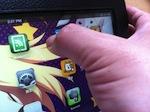 iPhone/iPadの保護シートの気泡の追い出し方