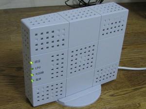 光回線の時には、VDSLモデムの代わりにONUを使う