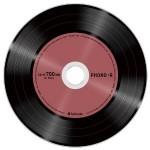 アナログレコード風のCD-R