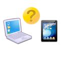 パソコンか、タブレットか、どちらを買うか迷っている人の参考に