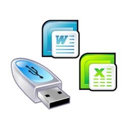 USBメモリで持ち運べるエクセルとワードの互換ソフト