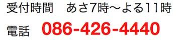 リモートサポートの電話番号