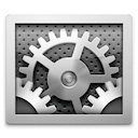 Mac OS Xのシステム環境設定のアイコン