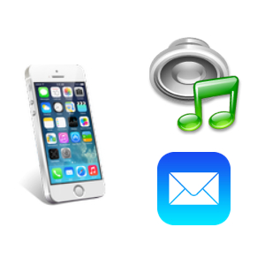iPhoneのサウンド設定