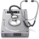 Macのディスクユーティリティのアイコン